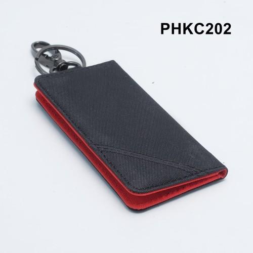 Foto Produk dompet stnk motor mobil model lipat buku hitam x merah - PHKC202 dari philo