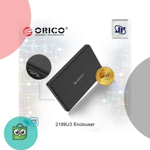 Foto Produk Orico Case External Hardisk SSD Portable 2189U3 2.5 Sata USB 3.0 dari Jodi Store.ID