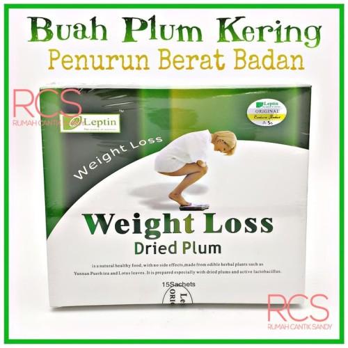 Foto Produk LEPTIN Weight Loss Dried Plum ~HOLOGRAM ~ Menurunkan Berat Badan Alami dari Rumah Cantik Sandy