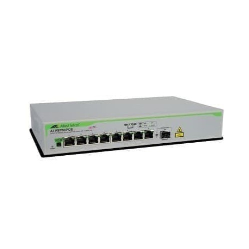 Foto Produk ALLIED TELESIS AT-FS708/POE Unmanaged switch PoE, 8 port + 1 Port SFP dari AdisatyaCom