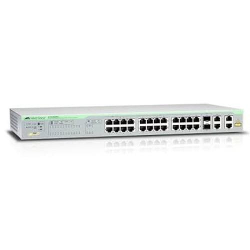 Foto Produk ALLIED TELESIS AT-FS750/28 WebSmart Switch 24-port + 2 SFP Combo Ports dari AdisatyaCom