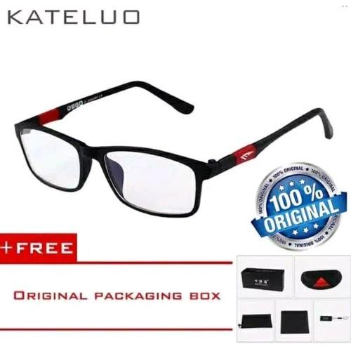 Foto Produk Kateluo Original Kacamata Anti Radias komputer dan Gadget PriaWanita - tanpa minus dari chobuy