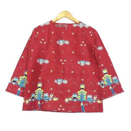 Foto Produk Atasan blouse batik wanita owel blouse dari rheazalea