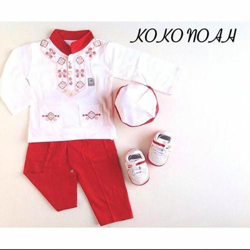 Foto Produk koko bayi baju muslim koko setelan peci murah anak bayi laki laki dari The Fairy Babyshop