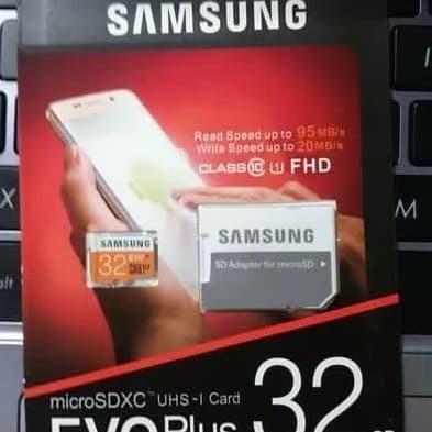 Foto Produk MicroSD SAMSUNG EVO PLUS 32GB dari Timmy Electrindo