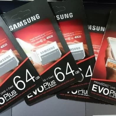 Foto Produk MicroSD SAMSUNG EVO PLUS 64GB dari Timmy Electrindo