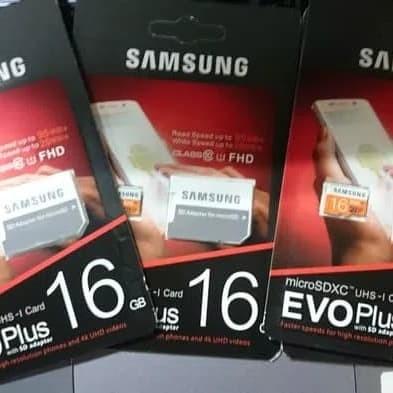 Foto Produk MicroSD SAMSUNG EVO PLUS 16GB dari Timmy Electrindo