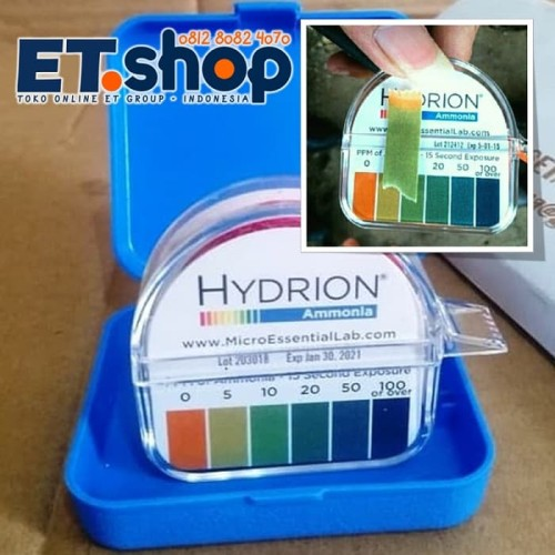 Foto Produk Tes Kit Amonia | Uji Cepat Amoniak | Hydrion AM-40, Ammonia Test Paper dari Wak Sunar