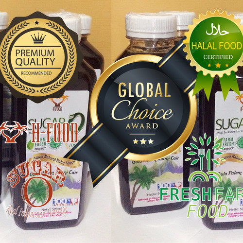 Foto Produk Gula Cair / Gula Jawa Cair / Gula Merah Cair 500 ml - Sugar-O dari H-Food