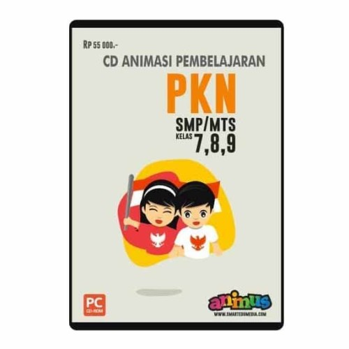 Foto Produk CD PKN KELAS 7 8 9 SMP/MTs dari SMART EDUMEDIA