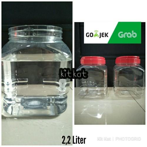 Foto Produk Toples Kotak Buat Ikan Cupang,Permen Dll 2.2 Liter dari Kitkats