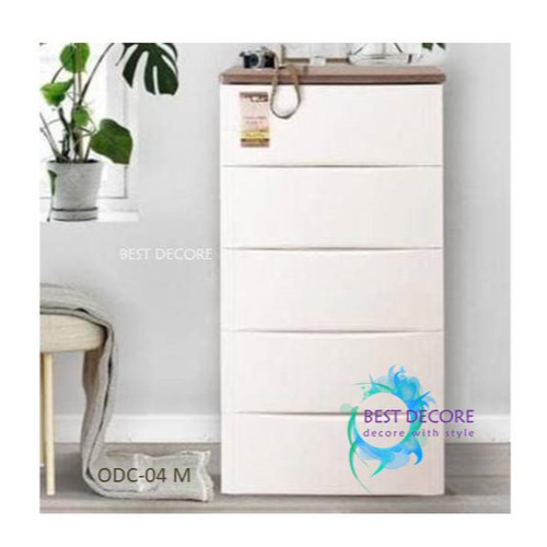 Foto Produk Olymplast Drawer Cabinet Modern 5 Susun - ODC 05M dari Best Decore
