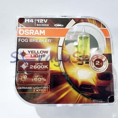 Foto Produk Lampu Halogen H4 Fog Breaker OSRAM dari Seraya Shop