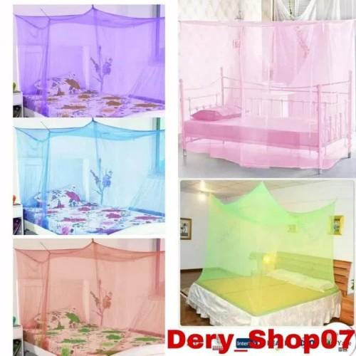 Foto Produk klambu kotak kelambu nyamuk kamar tidur kasur dari Dery_Shop Uchiiell