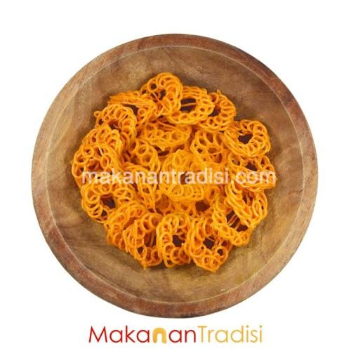 Foto Produk Kerupuk / Krupuk Mawar Merah 5 Kg dari Makanan Tradisi Id