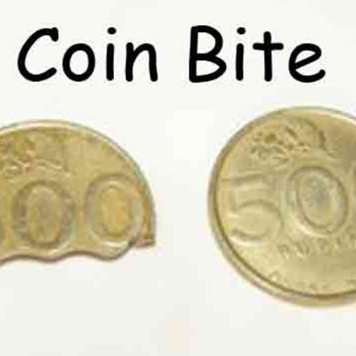 Foto Produk Alat Sulap Coin Bite / Koin Gigit / Koin Terbelah Dua dari reynaldo-tan