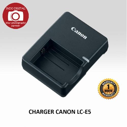 Foto Produk CHARGER CANON LC-E5 FOR BATTERY LP-E5 dari Indo Digital Nusantara