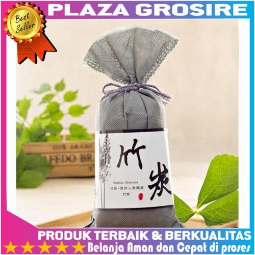 Foto Produk Kantong Arang Bambu Jepang Karbonaktif Penghilang Bau RuanganMobil dari Plaza Grosire