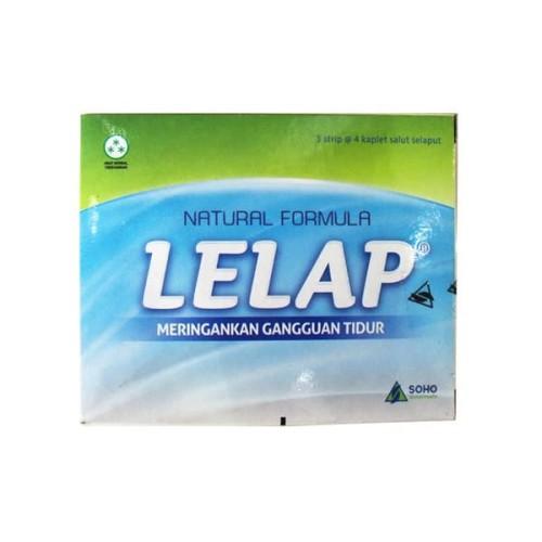 Foto Produk LELAP 4 TABLET / OBAT TIDUR / INSOMNIA dari CENTURY HEALTHCARE