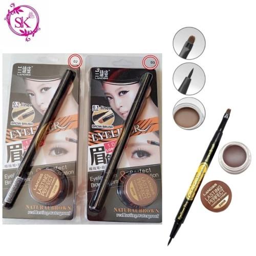 Foto Produk LANDBIS EYEBROW GEL 3 in1 with eyeliner + BRUSH dari Supplier Kosmetik Shop