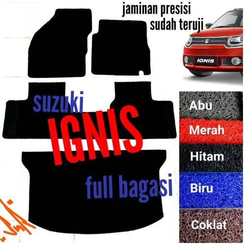 Foto Produk Karpet Mie Bihun Mobil Suzuki Ignis Full Bagasi dari SMR Karpet Mobil Jogja