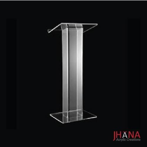 Foto Produk Podium acrylic/ meja pidato akrilik type PD02 #BISAGOJEK dari Jhana Acrylic