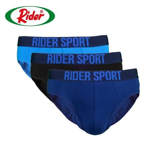 Foto Produk Rider Sport Men's Underwear R781B Multicolor [ 3 Psc ] - Multiwarna, XL dari Rider Official