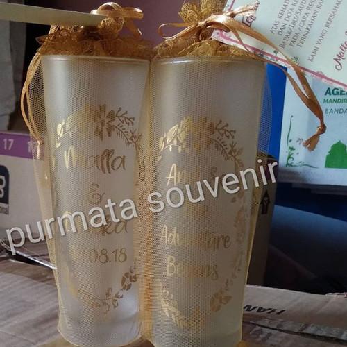 Foto Produk souvenir gelas slim doff/souvenir pernikahan/souvenir Jakarta dari purmata souvenir