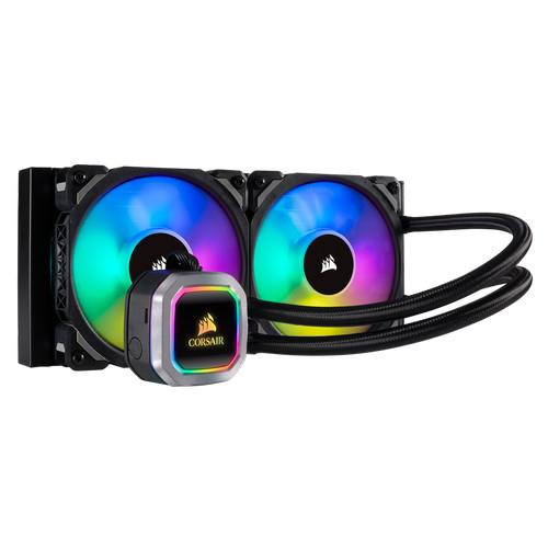 Foto Produk Corsair Hydro Series H100i RGB PLATINUM [CW-9060039-WW] dari silicon ONE Computer