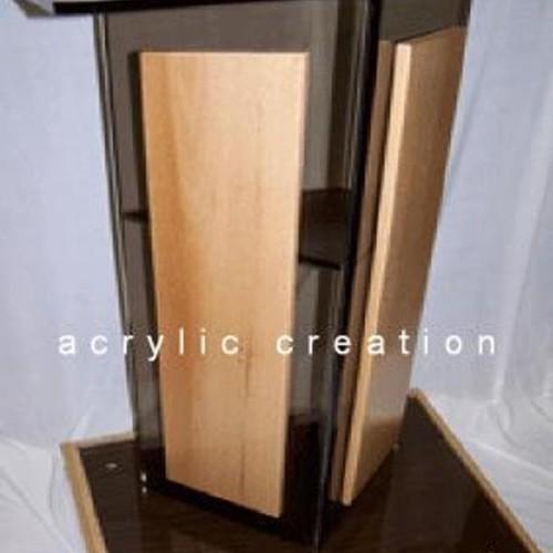 Foto Produk Podium acrylic/ meja pidato akrilik type PD05 #BISAGOJEK dari Jhana Acrylic