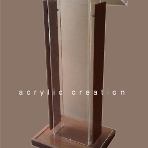 Foto Produk Podium acrylic/ meja pidato akrilik type PD04 #BISAGOJEK dari Jhana Acrylic