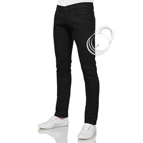 Foto Produk Celana jeans pria / Skinny slim fit / padlock - Black, 27 dari padlock