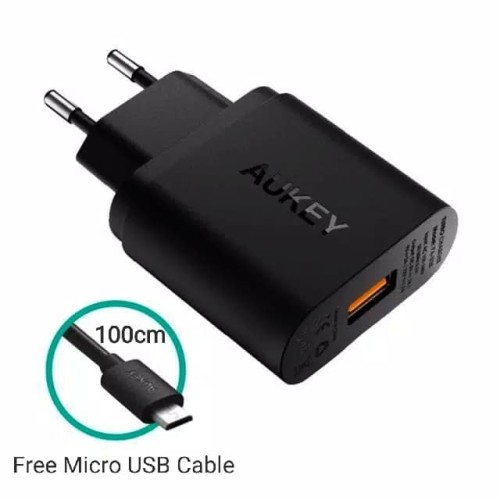Foto Produk AUKEY Charger USB 1 Port 18Watt PA-U28A304 Quick Charge & AIPower dari U.SHOP