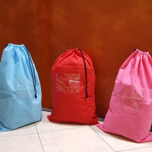 Foto Produk Tas laundry up to 8-10kg Murah - Biru dari Home Diaries