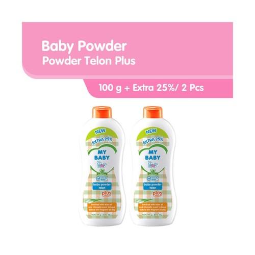 Foto Produk My Baby Powder Telon Plus Bedak Bayi [100 g/2 Pcs] dari Tempo Store Official