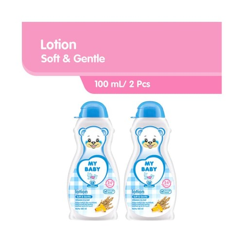 Foto Produk My Baby Lotion Soft & Gentle [100 mL/ 2 pcs] dari Tempo Store Official