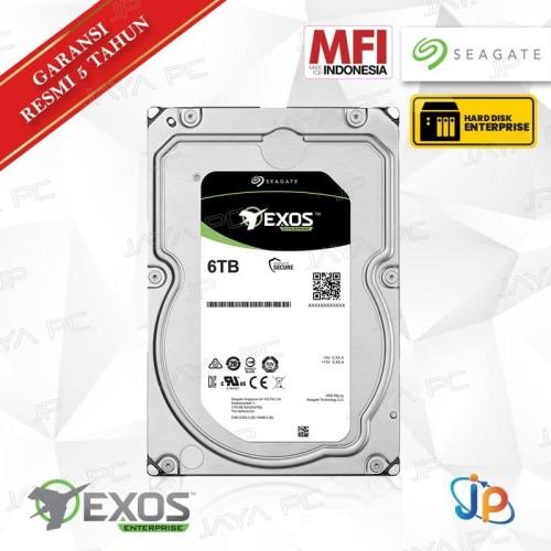 "Foto Produk Seagate Exos Enterprise SAS 6TB 3.5"" HDD/ Harddisk Server 7200 RPM dari Jaya PC"