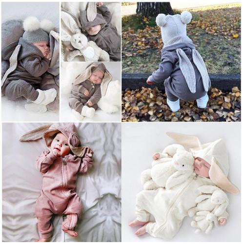 Foto Produk Jumper Bayi Lucu / Romper Bayi Lucu /Jumper Baby Lucu - Putih dari M&K ( Mom & Kids)