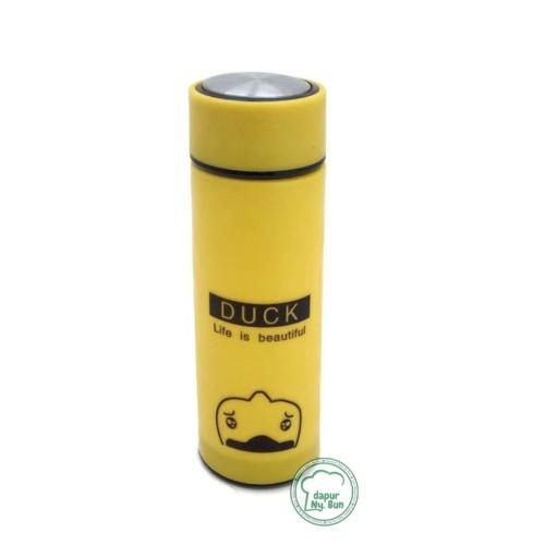 Foto Produk 1Pc Botol Minum Kaca Dengan Cover Plastik Motif Hewan Ukuran 400ml dari Dapur Ny.Bun