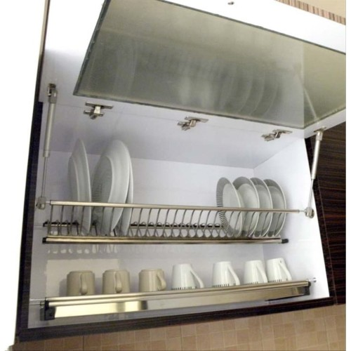 Foto Produk Rak Piring Gantung Stainless Winston 60 Cm WW 304A for Kitchen Cabinet dari WINSTON-OK OFFICIAL STORE