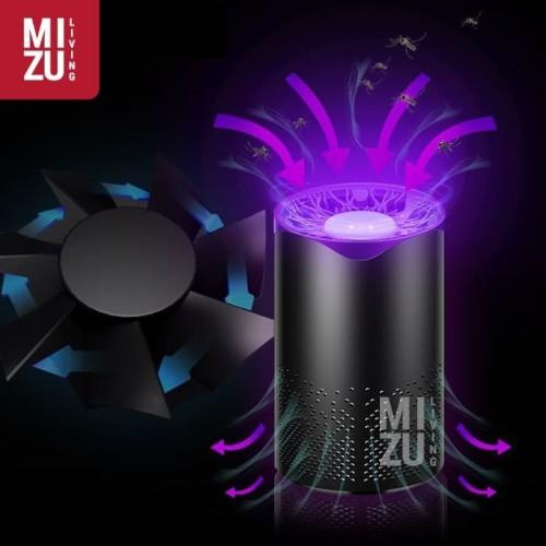Foto Produk BIOTREE Perangkap Nyamuk LED UV Mosquito Trap USB / Lampu Tidur Cantik - BLACK dari MIZU Living