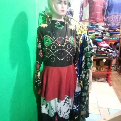 Foto Produk Baju Wanita Sasirangan - Hitam dari Kriya Katupat