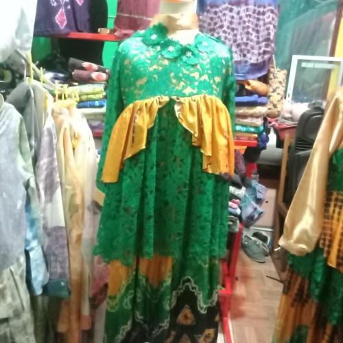 Foto Produk Baju Sasirangan wanita - Hijau dari Kriya Katupat
