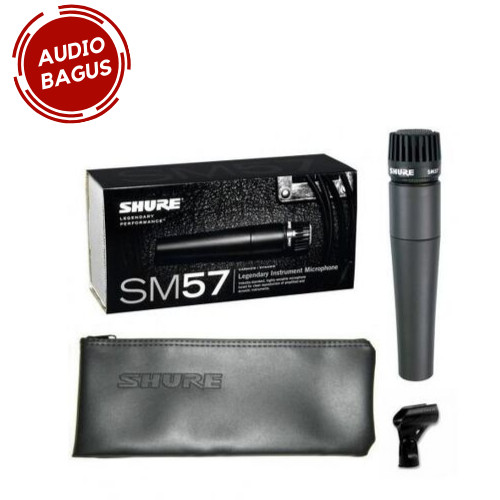 Foto Produk Shure SM57-LC SM57LC SM57 Dynamic Instrument Microphone original dari Audio Bagus