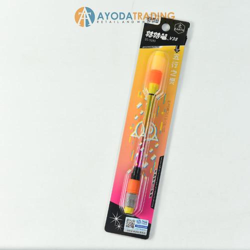 Foto Produk Spinning Pen ZhiGao V38 - Kuning dari Ayoda Trading