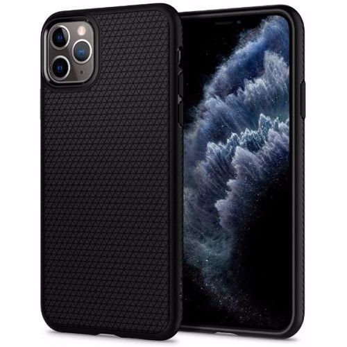 Foto Produk Spigen Liquid Air for iPhone 11 pro 5,8 inc - Matte Black dari darahningrat