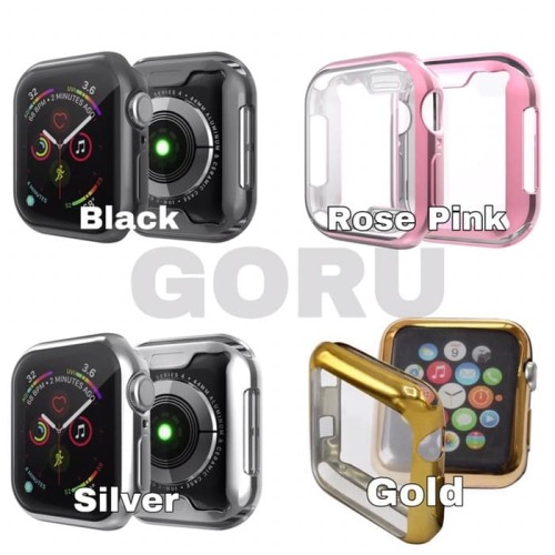 Foto Produk Soft case apple watch series 5 4 TPU 40 44 mm screen cover warna dari goru