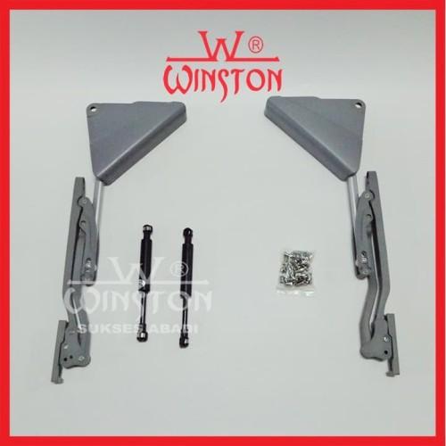 Foto Produk Engsel Lift Up & Down Winston HS 303 W 50-90cm x H 60 - 72cm Panel dari WINSTON-OK OFFICIAL STORE