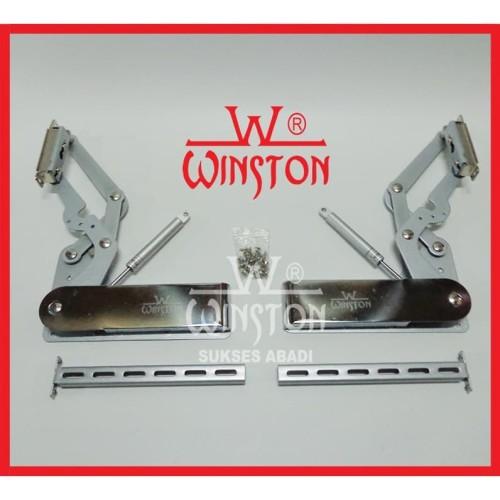Foto Produk Engsel Lift Up & Down Winston HV 202 for Cabinet Panel 340 - 380 mm dari WINSTON-OK OFFICIAL STORE