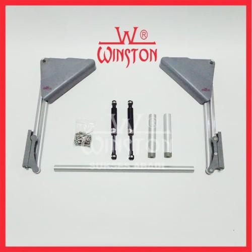 Foto Produk Engsel Lift Up & Down Winston HS 301 for Cabinet Panel 45-60cm x 40cm dari WINSTON-OK OFFICIAL STORE